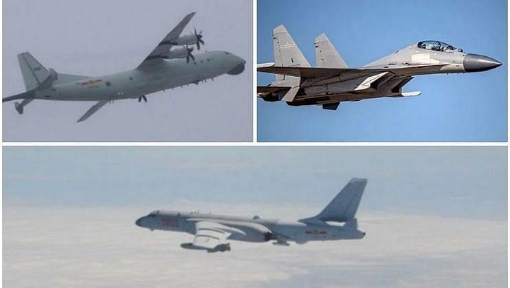 चीनची तैवानमध्ये सर्वात मोठी घुसखोरी; 38 लढाऊ विमाने संरक्षण क्षेत्रात उतरली