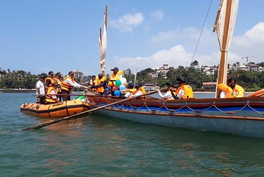 NCC's Sagar shakti 21 Ocean sailing expiation