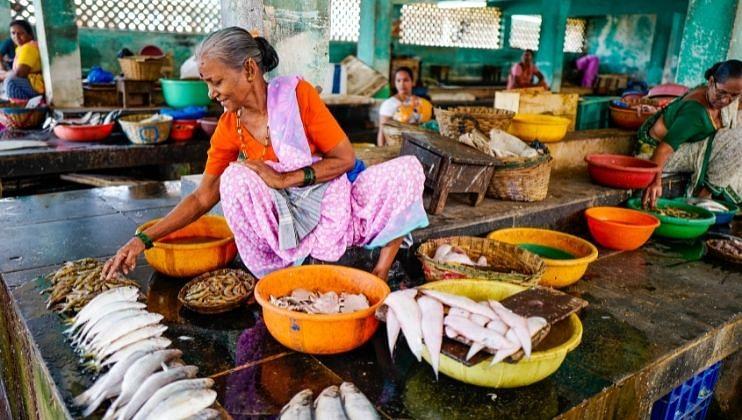 येवा कोकण आपलाच असा! माशांच्या खरेदीसाठी पर्यटकांची लगबग