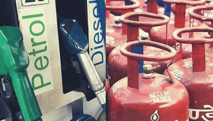 पेट्रोलसह LPG गॅसचाही भडका, सर्वसामन्यांना दिलासा नाहीच