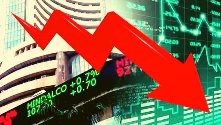 Share Market: सेन्सेक्स मध्ये 555 अंकांची मोठी घसरण झाली