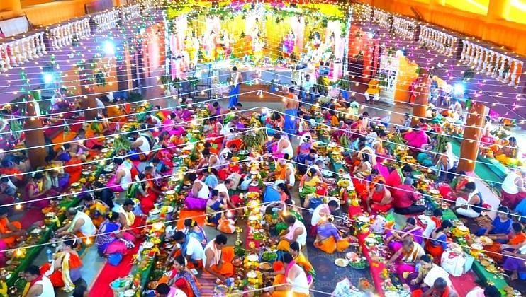 Goa: नवरात्रोत्सव निमित्त '101 सामूहिक सत्यनारायण' पूजा संकल्प संपन्न