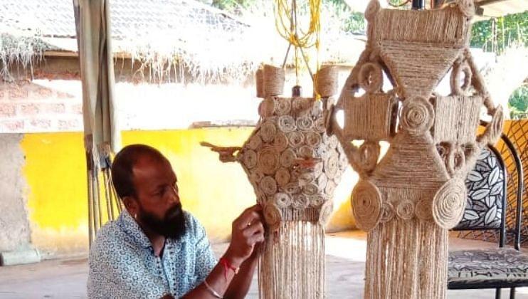 Diwali 2021: गोवेकरांना सुतळीच्या  आकाशकंदीलचं आकर्षण