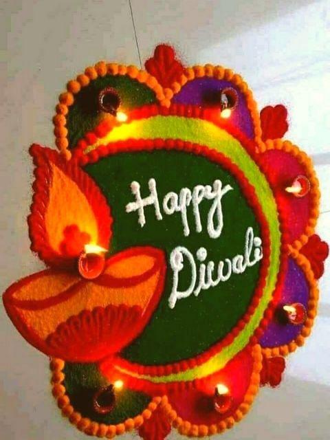 Diwali Special रांगोळी डिझाईन्स..