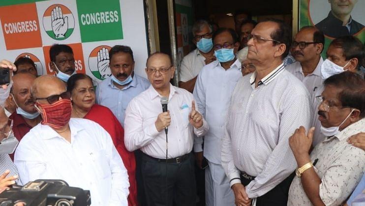 Goa: प्रदेश काँग्रेसच्या निवडणूक कार्यालयाचे माजी मुख्यमंत्र्यांनी केले उद्घाटन