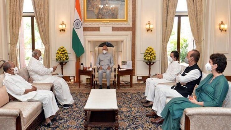 Lakhimpur Kheri Case: काँग्रेस शिष्टमंडळ राष्ट्रपतींच्या भेटीला, मिश्रांच्या राजीनाम्याची मागणी