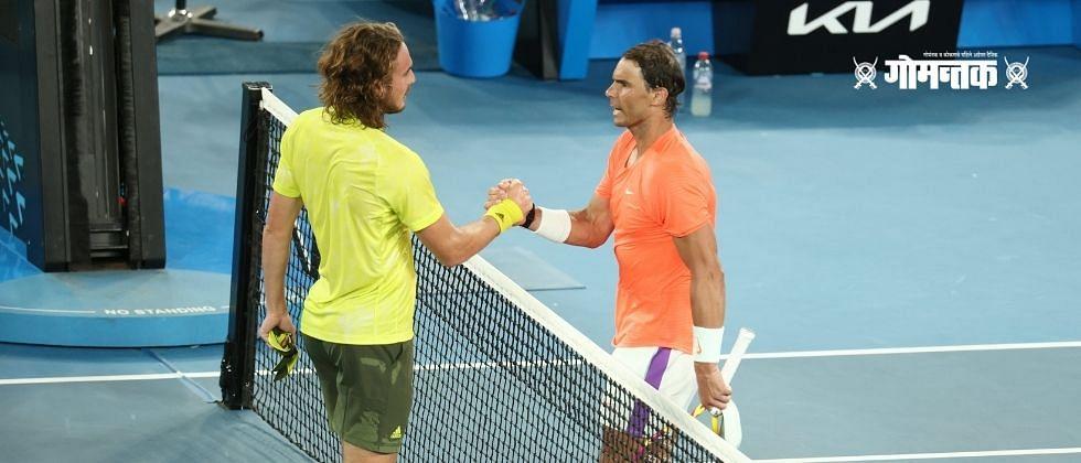Australian Open : स्टेफनोस सीतीसिपासकडून राफेल नदालला पराभवाचा धक्का