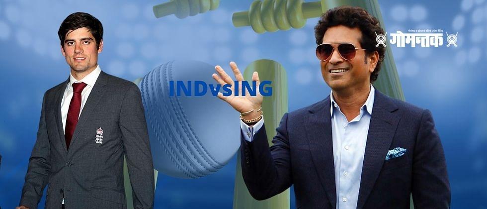 """INDvsING: """"भारत इंग्लंड कसोटी मालिकेला तेंडुलकर आणि या खेळाडूचं नाव द्या"""""""