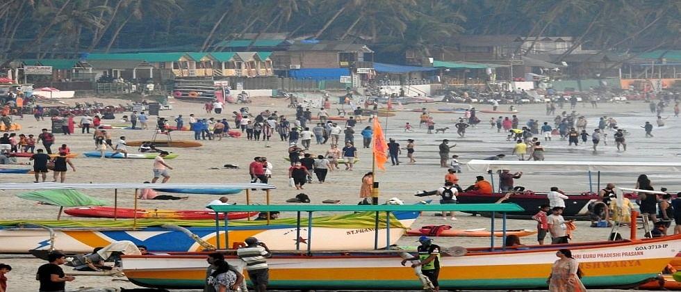 South Goaत वाढतेय देशी पर्यटकांची संख्या