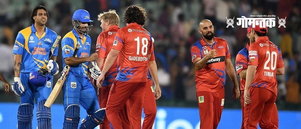 Road Safety World Series T20: इरफान पठाणच्या तुफानी खेळीनंतरही इंडिया लीजेंड्स पराभूत