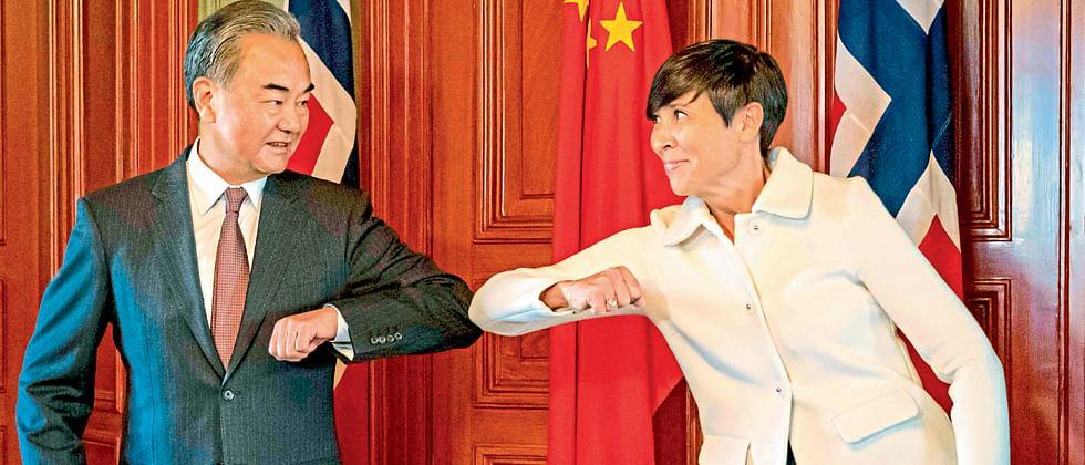 अमेरिका- चीन तणाव कमी करण्यास युरोपीय देशांची भूमिका महत्वाची: वँग यी