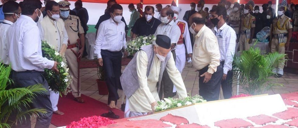 Goa Revolution Day: राज्यपाल कोश्यारी आणि मुख्यमंत्री सावंत यांनी शहीदांना श्रद्धांजली वाहिली