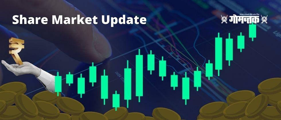 Share Market Update : भांडवली बाजारात सेन्सेक्स व निफ्टीने घेतली मोठी झेप
