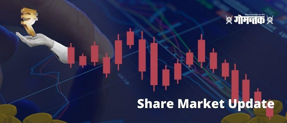 Share Market Update : आठवड्याच्या पहिल्याच सत्रात भांडवली बाजार कोसळला