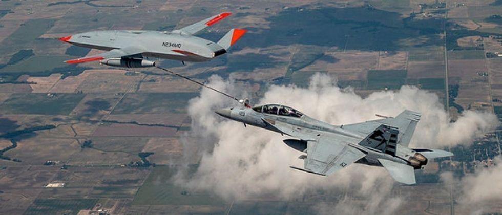 America : मानव रहित ड्रोनद्वारे विमानात इंधन भरण्यास मिळाली सफलता