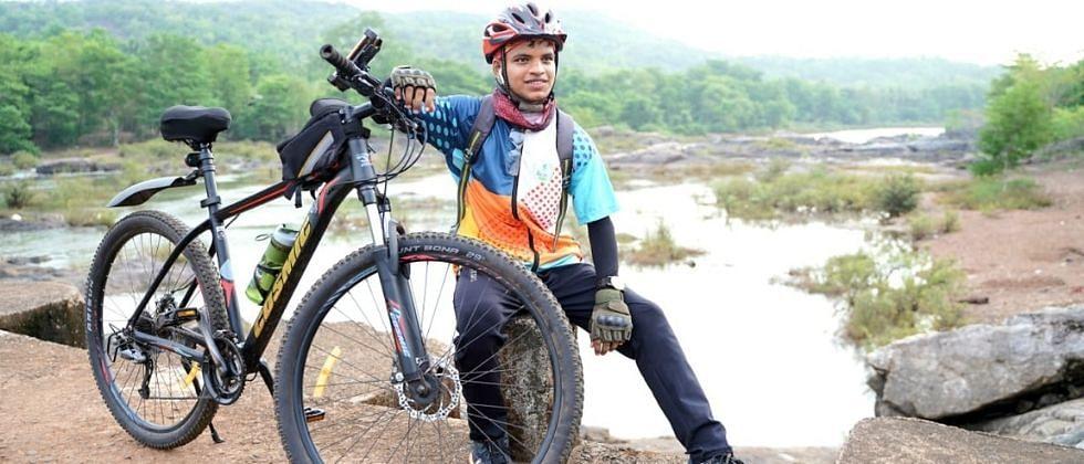 पर्यावरणस्नेही सायकलपटू नितांतची युनिसेफने घेतली दखल