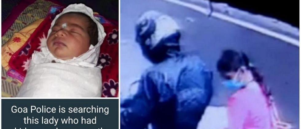 गोवा वैद्यकीय महाविद्यालय हॉस्पिटलमधून चोरीला गेलेल्या बाळाचे सीसीटी फुटेज व्हायरल
