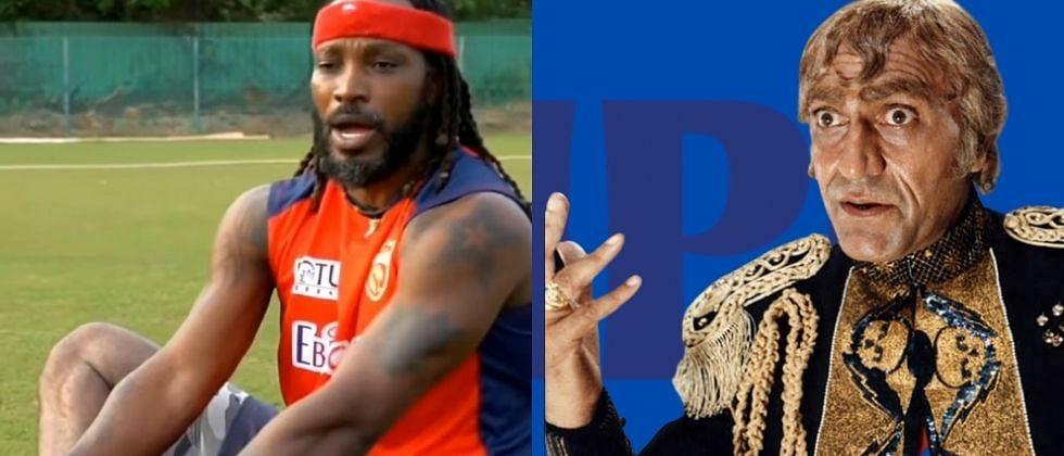 IPL 2021: युनिव्हर्स बॉसला लागले बॉलिवूडचे वेड; पहा Video