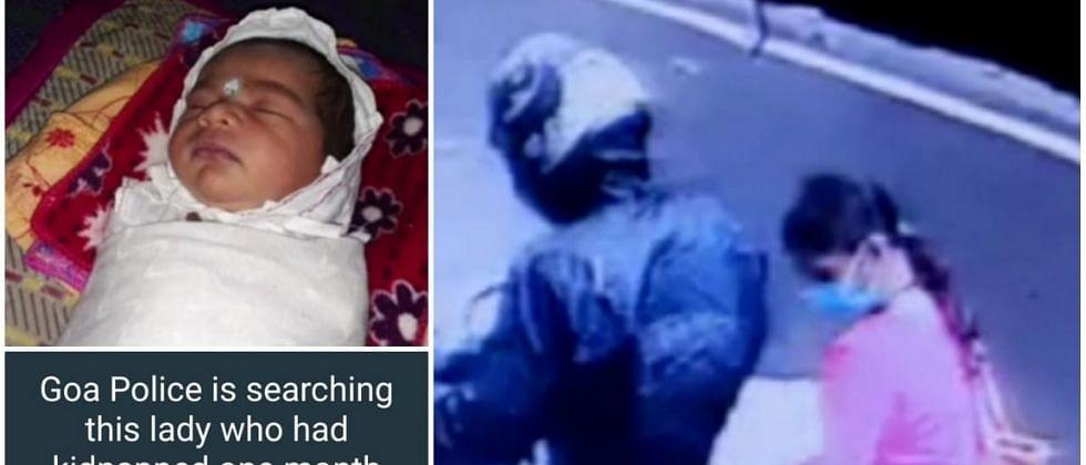 GMC Infant kidnapping case: त्या महिलेला जामीन देवू नका, बाळाच्या आईची मागणी