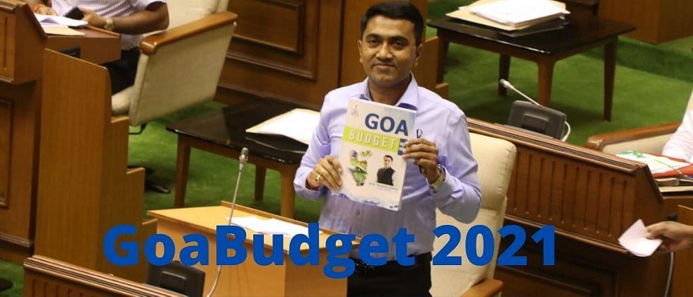 Goa Budget 2021:मुख्यमंत्र्यांनी केला स्थानिकांवर योजनांचा वर्षाव