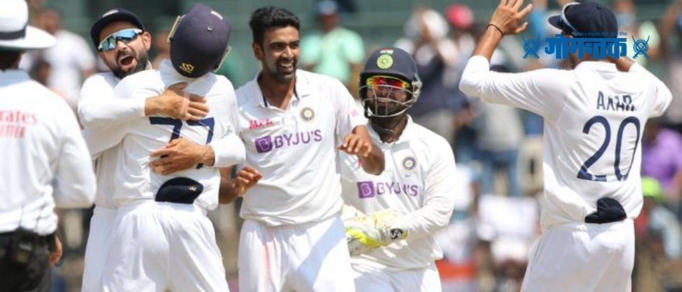 INDvsENG 2ndT Day2: टीम इंडिया मजबूत स्थितीत; अश्विनच्या फिरकीमुळे इंग्लंडचे फलंदाज गारद