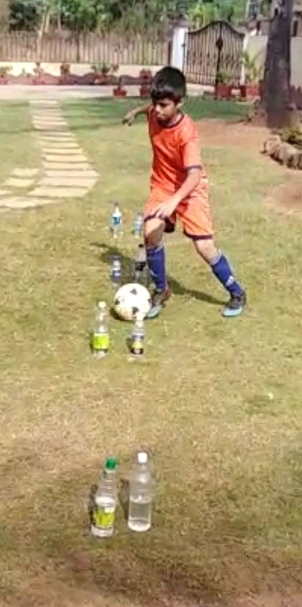 युवा फुटबॉलपटूंच्या मदतीस फोर्सा गोवाचे'ड्रिल्स'