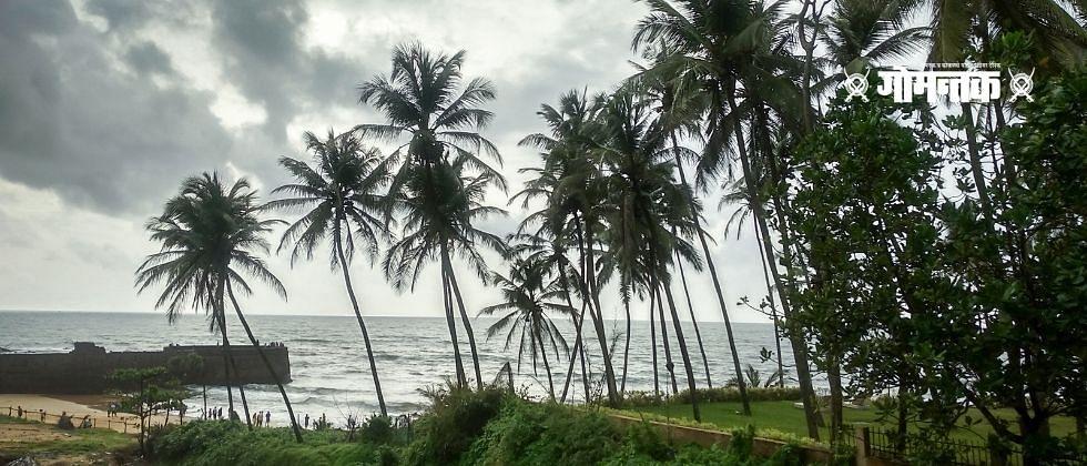 हरमल समुद्रकिनाऱ्यावर वीस हजार रुपयाचे अंमली पदार्थ जप्त