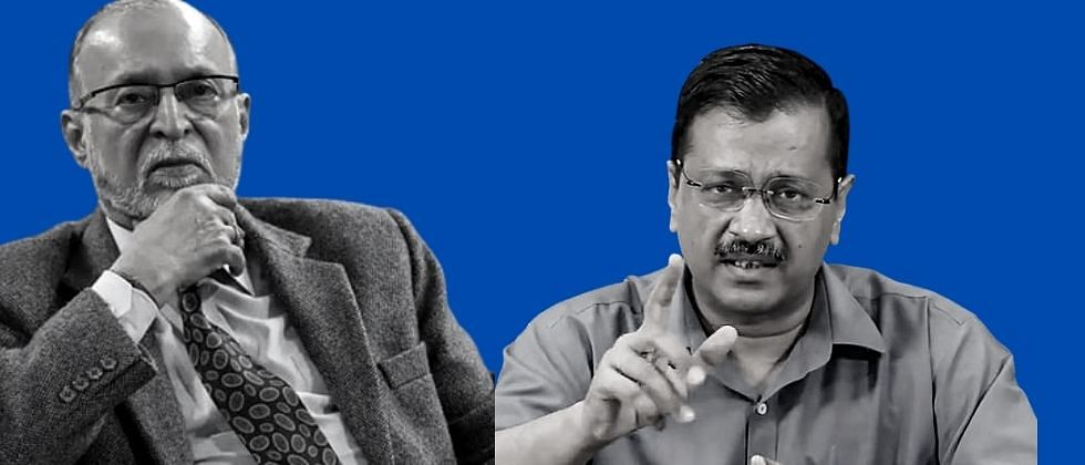 दिल्लीत नवा कायदा लागू; ''सरकार'' म्हणजे नायब राज्यपाल