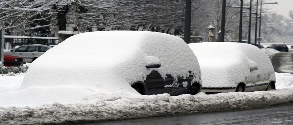 'माद्रिदमध्ये तुफान बर्फवृष्टी'...50 वर्षातल्या उच्चांकी बर्फवृष्टीची नोंद