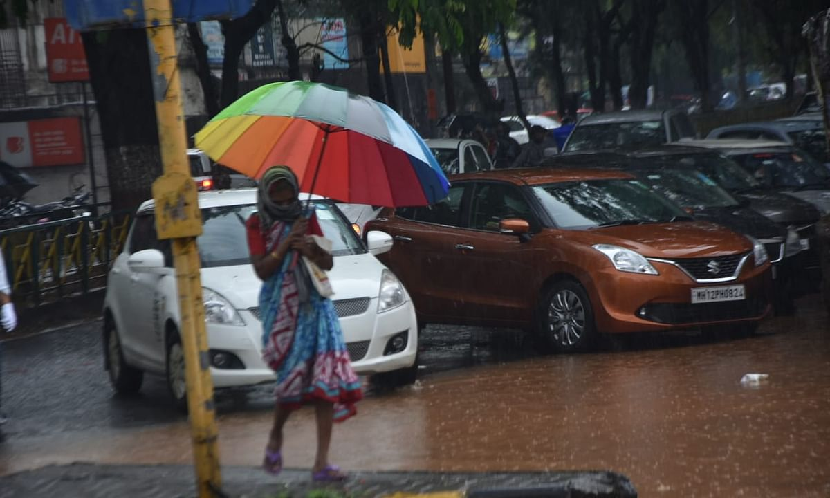 Nashik city recorded 40 mm rains