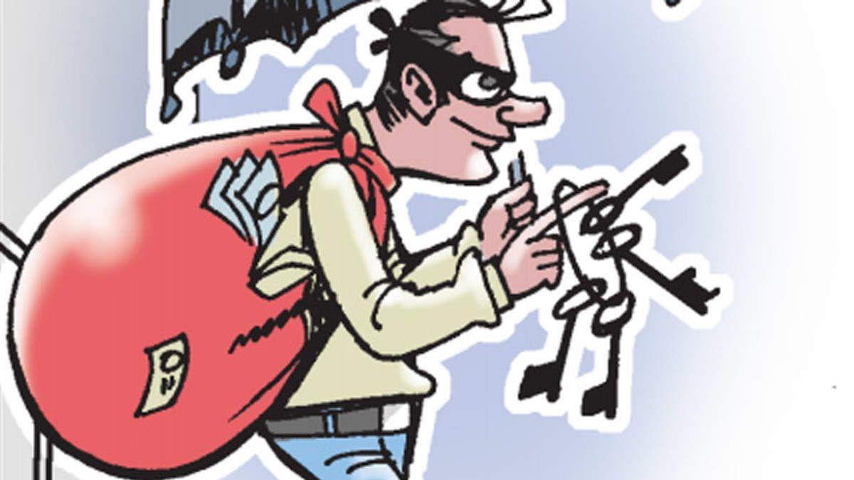 राहुरी तालुक्यातील मालुंजे खुर्द मध्ये चोरी