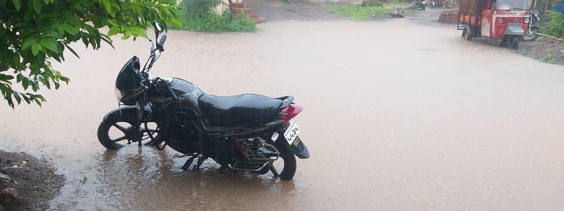 श्रीगोंदा शहरासह तालुक्यात जोरदार पाऊस
