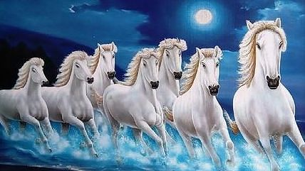 ७ पांढर्या घोड्यांचे महत्त्व