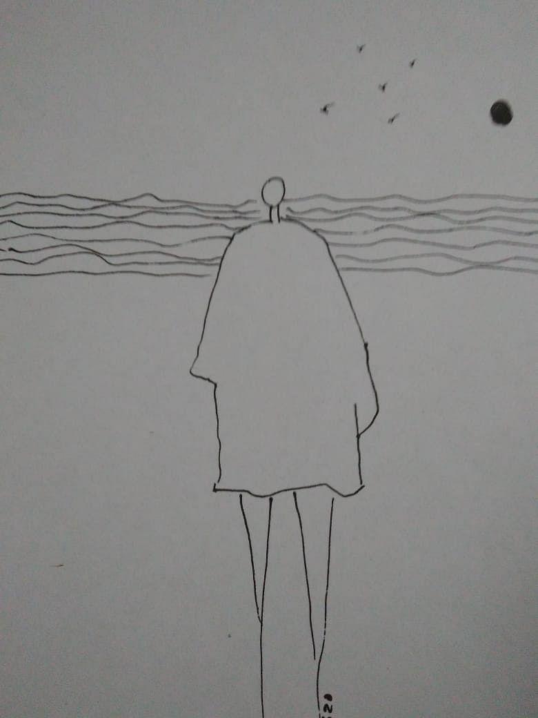 रेखाचित्रे - ज्योती डेरेकर