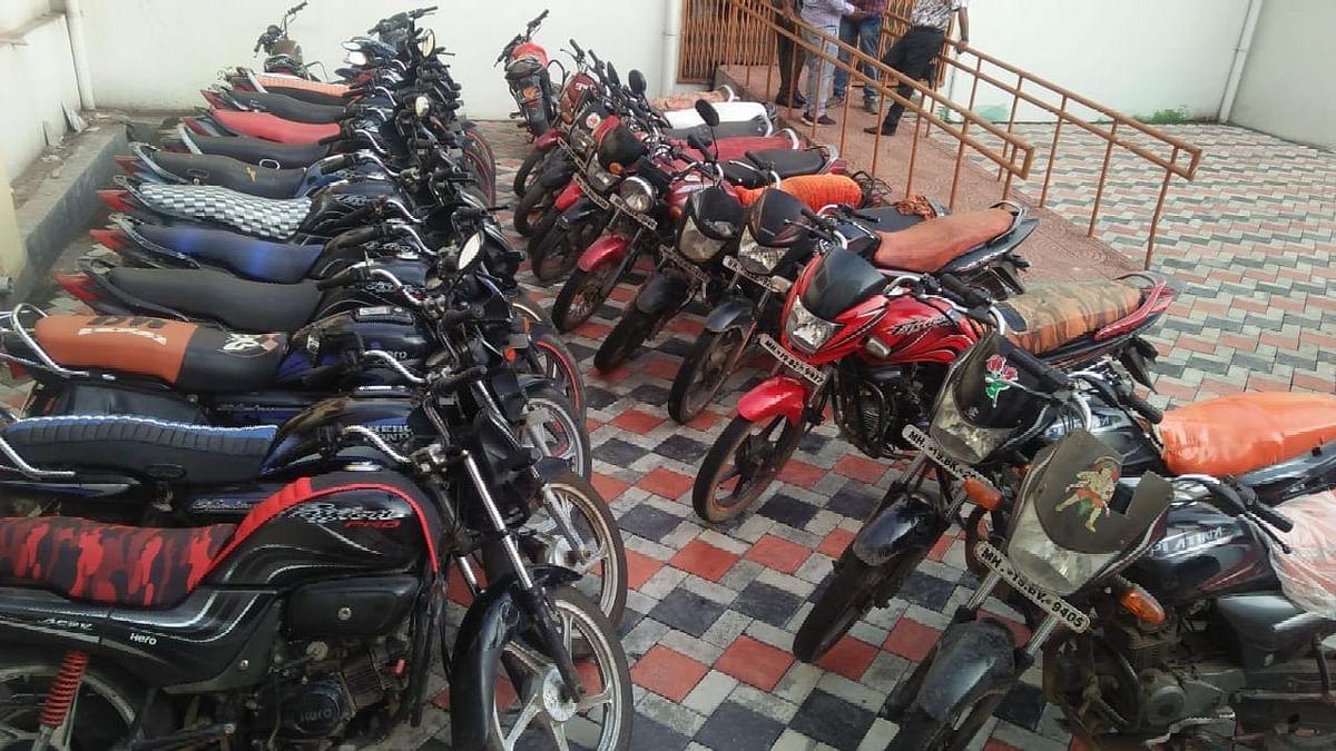 पाच वर्षांपासून मोटारसायकली चोरणारे अट्टल महिला अन् पुरुष चोरटा गजाआड