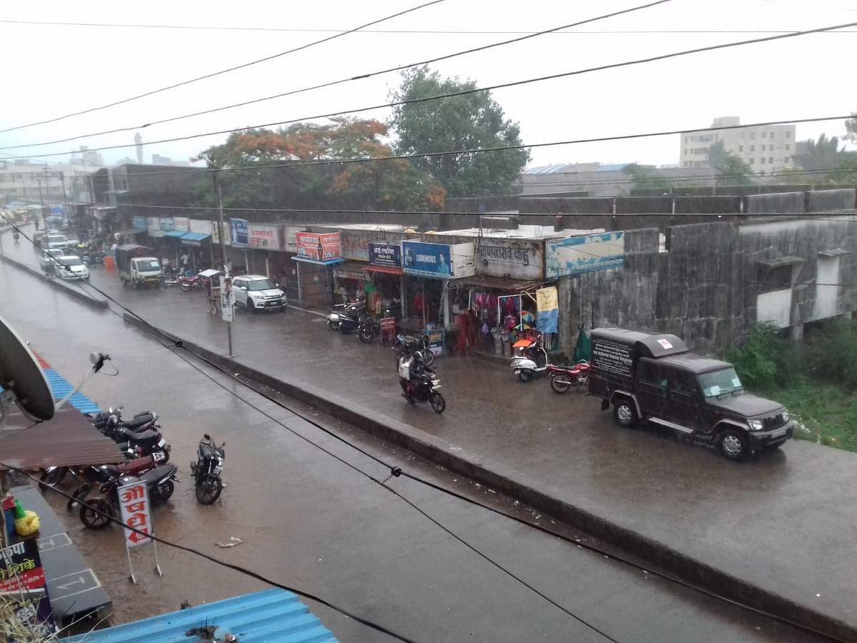 इगतपुरी तालुक्यात दमदार पाऊस