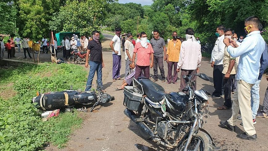 यावल : चितोडा गावाजवळ दोन मोटारसायकलींचा अपघातात