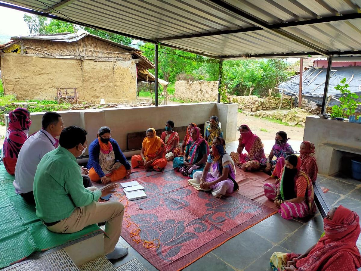 त्र्यंबकेश्वर : सामुंडी येथे महिलांसाठी भातपीक शेती कार्यशाळा