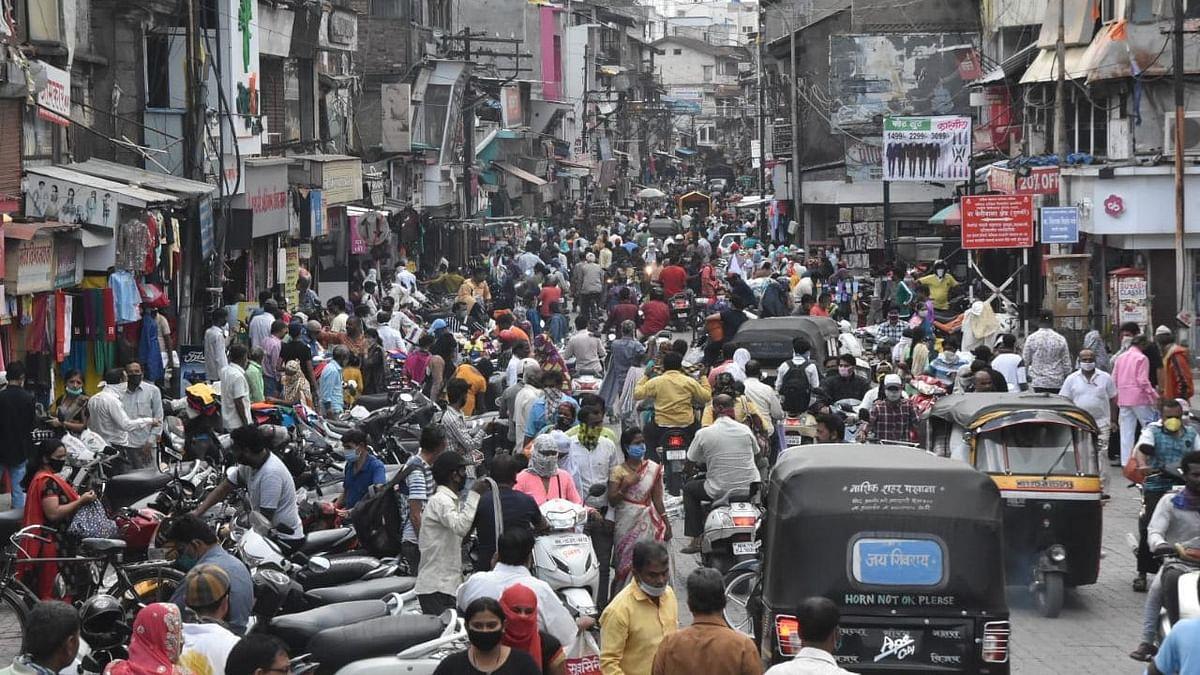Social distancing violations galore in city