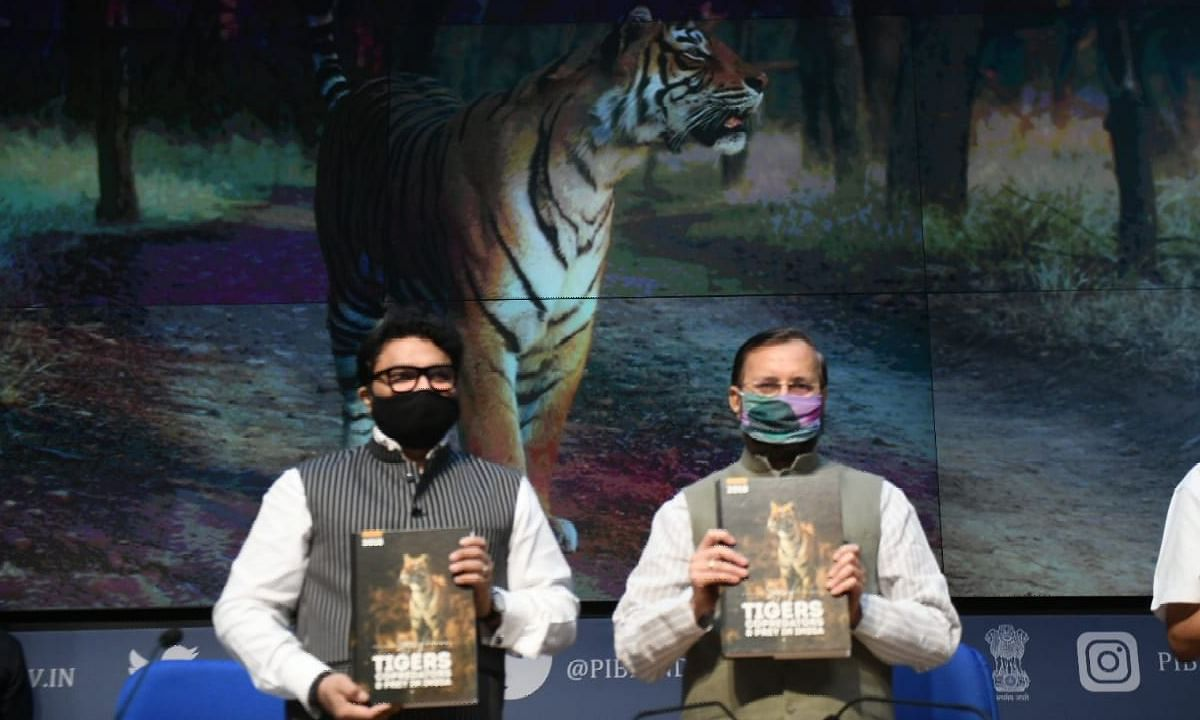 India will take leader's role in global Tiger conservation : Javadekar