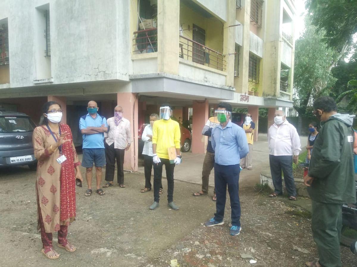 इगतपुरीत घरोघरी जाऊन आरोग्य सर्वेक्षण