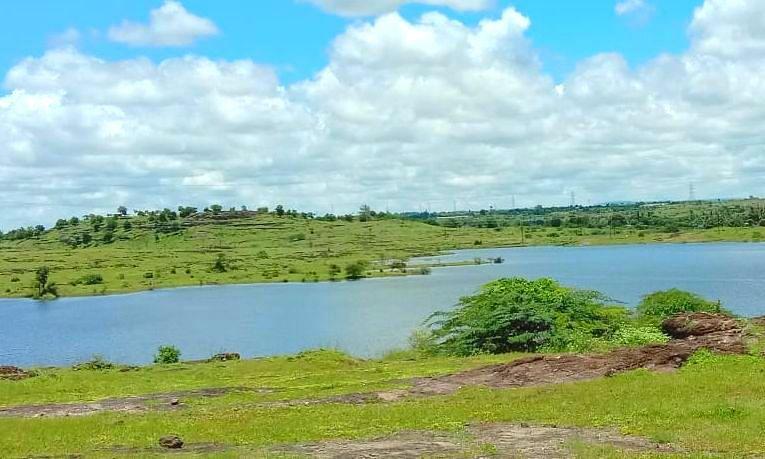 विळद येथील तलाव पूर्णक्षमतेने भरला