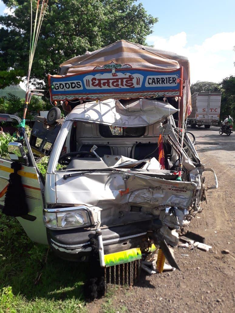 देवळा : अपघातात नऊ जखमी