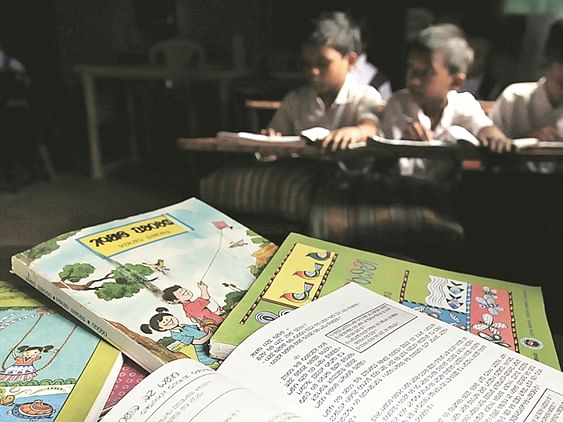 Education department to reuse textbooks