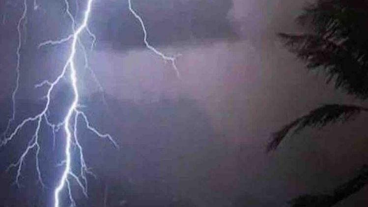 देशवंडीत वीज कोसळून युवतीचा मृत्यू
