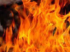 जळगाव : जि.प.च्या बांधकाम विभागाला आग