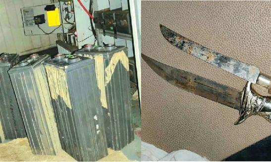मोबाईल टॉवरच्या बॅटर्या चोरणारी टोळी जेरबंद