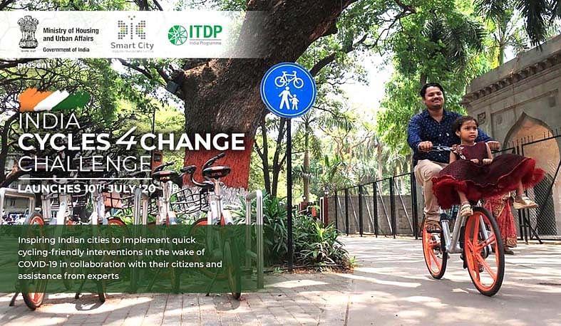 नाशिक स्मार्ट सिटी 'इंडिया सायकल्स फॉर चेंज चॅलेंज'मध्ये