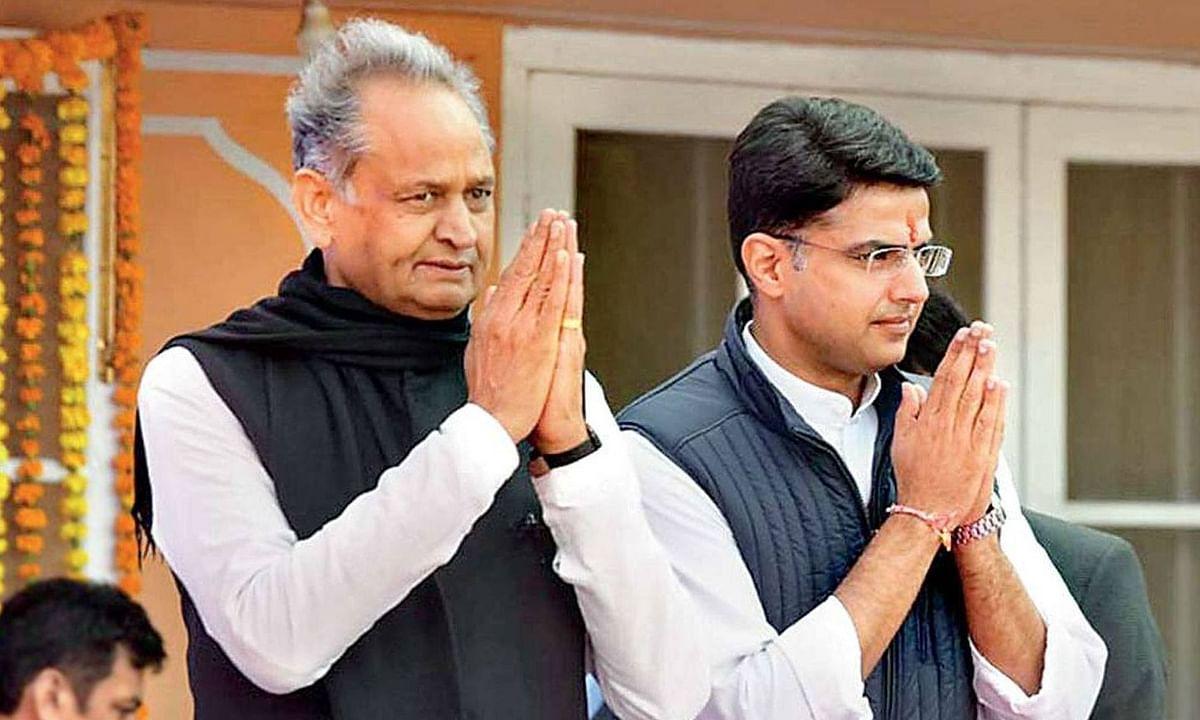 राजस्थान राजकारण : सचिन पायलट दुसऱ्या बैठकीला देखील गैरहजर, गेहलोत सरकारचे संकट वाढले