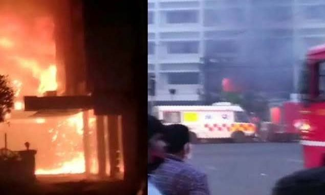 धक्कादायक ! Covid Center मध्ये आग; ११ जणाचा मृत्यु